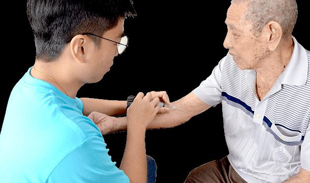 part time elderly care singapore